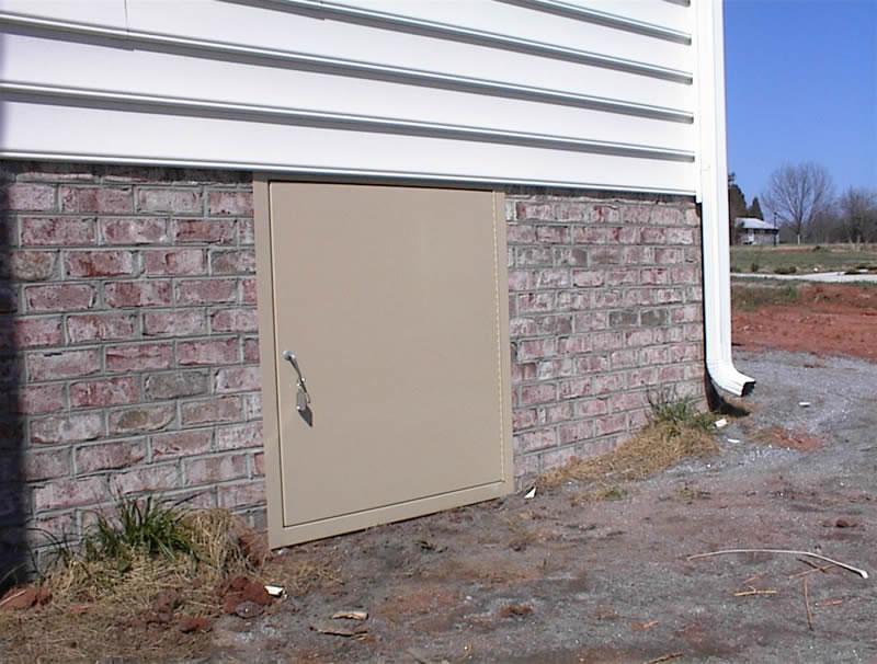 Crawl Space Doors Gallery K Amp P Crawl Space Doors